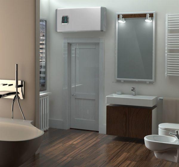 белая раковина в ванную