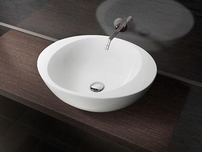 круглая раковина в ванную